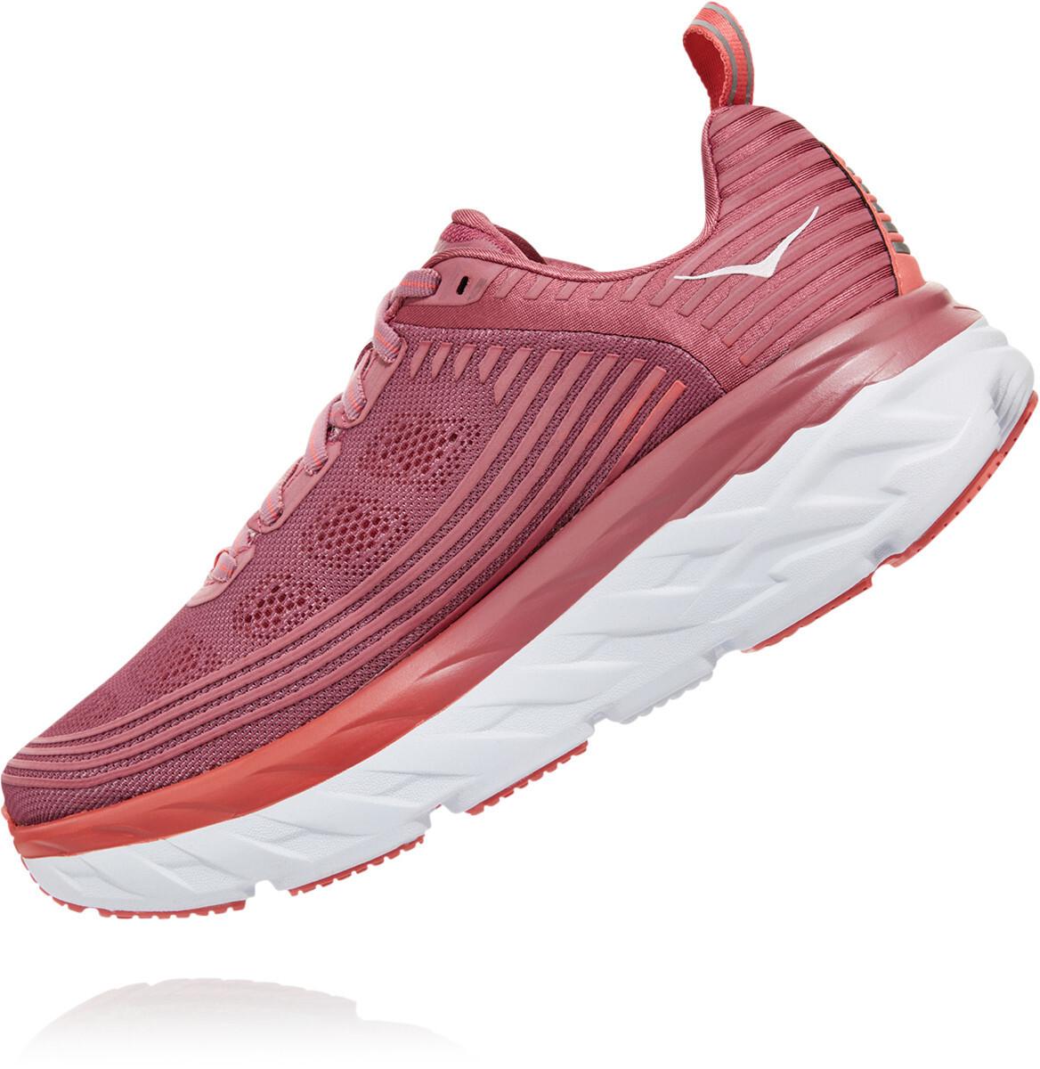 Hoka One One Bondi 6 Running Shoes Dame heather roselantana